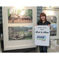 Right after we won  Best In Show  at the home expo.