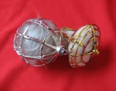 old angel hair christmas ornaments - Google Search