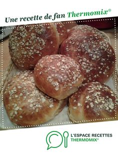Petits pains aux céréales par joeth. Une recette de fan à retrouver dans la catégorie Pains & Viennoiseries sur www.espace-recettes.fr, de Thermomix<sup>®</sup>.