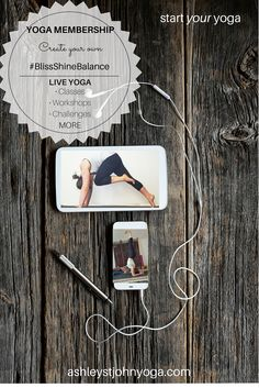 LIVE Yoga, anywhere. Classes, Workshops & MORE --- Begin or Deepen your Yoga Practice today! Sign Up - ashleystjohnyoga.com