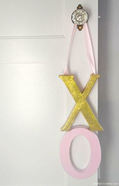 DIY door hanger!
