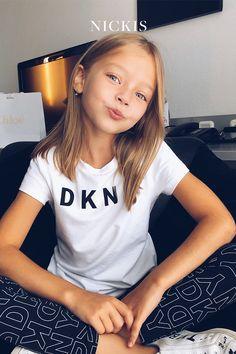 Beautiful Little Girls, Cute Little Girls, Beautiful Children, Little Girl Short Haircuts, Girl Haircuts, Young Girl Fashion, Tween Fashion, Girls Sports Clothes, Fashion Clothes