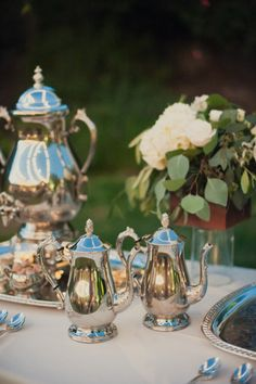 Silver Coffee and Tea service