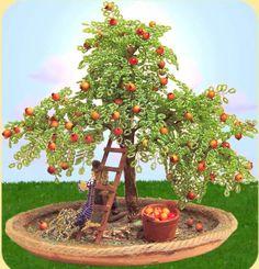 come costruire bonsai piante piantine di perline e accessori