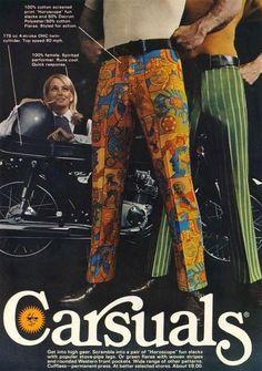carsuals - (casual)(menswear)(magazine ad)(fashion)(sixties)