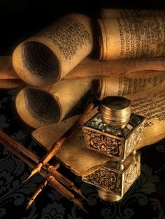 ink and parchment