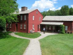 Fruitlands Museum, Harvard, MA.  Planning to bring the kids this summer
