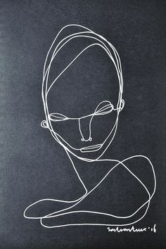 Continuous Line Portrait (by Salventius)