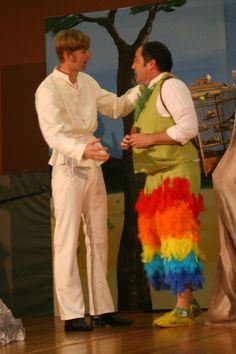 Kostüme Tamino und Papageno, Oper Zauberflöte
