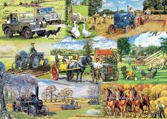 JIGSAW === Farming Legends - 1000 Pieces === GIBSONS in Toys & Games, Jigsaws & Puzzles, Jigsaws   eBay