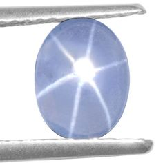 1.78 Cts Natural Blue Star Sapphire Oval Cabochon Unheated 8x6 mm Video Burma $ #Unbranded