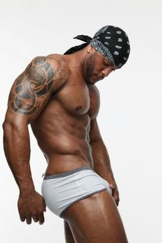 Sexy black men and women