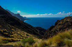 Road GC200, Agaete to La Aldea, Gran Canaria, by Mirela Felicia Catalinoiu