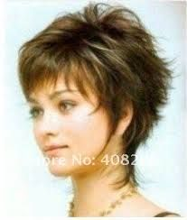 short hair styles wigs  this with the upper part of the back shorter and the crown slightly shorter   I like the few wispy longer fringes  - Google Search