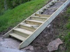 Best Exterior Stair Stringers By Fast Stairs Com Outdoor 400 x 300