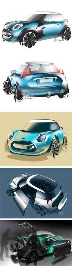 MINI ROCKETMAN Concept Car - Car Design & Concept Art | Vingle