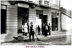 Bosanska street in Belgrade ~ Serbia