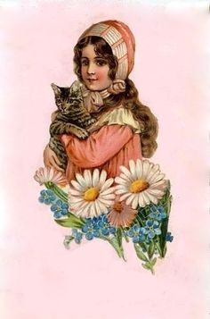 bumble button: Victorian Die-cut scrap booking pictures. Free clip art of Fans, Doves, Bird cages, Little girl in frilly lace bonnet,Castle