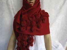 wool shawl von funnydays auf Etsy, $79.00
