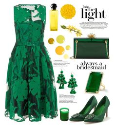 """""""in the light"""" by felicitysparks ❤ liked on Polyvore featuring Hermès, Illamasqua, Kate Spade, WithChic, Charlotte Olympia and The Webster"""