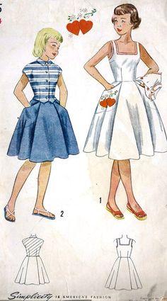 girls dress pattern | Tumblr