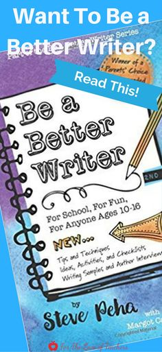 Be a Better Writer, a must read for anyone who wants to be a better writer, in its 2nd edition, offers the writer real tips, practical techniques, relevant activities, useful checklists and essential writing samples to teach the writer, not the writing. Read the book review at For The Love of Teaachers.