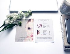 Makeup Price List  Price Guide Design  Template By Emandcodesign