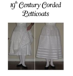 Cloak & Corset | Products: 19th Century Corded Petticoats Workbook