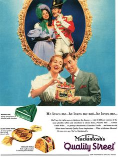 Mackintosh's Quality Street Candy vintage ad food 1950s candy