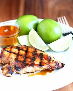 """Honey Lime Chicken"" marinade plus many other recipes on cooking classy Best Chicken Recipes, Great Recipes, Favorite Recipes, Dinner Entrees, Dinner Recipes, Appetizer Recipes, Cooking Recipes, Healthy Recipes, Healthy Foods"