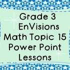 Cups, Gallons, Liters, Grams, Pounds, and more! If you are using the Grade 3 EnVisions math curriculum, these power points are a great resource to ...
