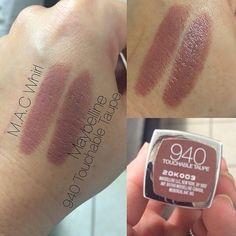 Hey Dupelovers@maybelline lipstick in | WEBSTA - Instagram Analytics