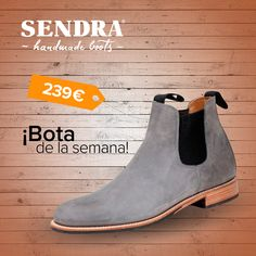 Este botín de cuero es ideal para dar un toque elegante a tu look! Descubre el modelo Benny Floter Note / This leather ankle boot is ideal to give an elegant touch to your look! Discover the model Benny Floter Note