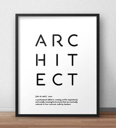 Architect definition print Minimal design wall art Pegboard design Architect funny quote Black and white poster Dorm wall art Office print Architecture Career, Architecture Program, Architecture Concept Drawings, Office Prints, Office Wall Art, Best Architects, Architects Quotes, Black And White Posters, Dibujo