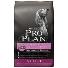 For pets with food allergies or sensitivities, Purina makes a decent line of foods that are palatable and healthy for your pet. It can only be found in pet shops or pet food stores and runs about $12.99 for an 8lb bag.