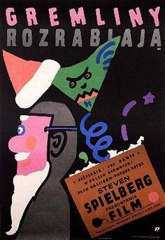 Polish movie poster for GREMLINS