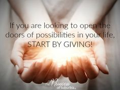 Good Morning Everyone! Let us start by GIVING!  #IWillFinishStrong #FirstSTEPOUT