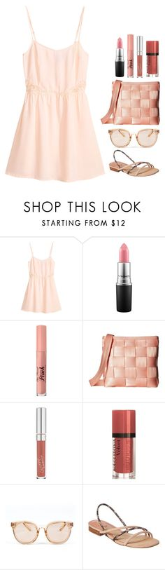"""Beat the Heat"" by lizdp ❤ liked on Polyvore featuring H&M, MAC Cosmetics, Too Faced Cosmetics, Harveys, Bourjois, Armitage Avenue and B Brian Atwood"