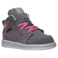 <p>The hoops legend that changed the game forever has inspired more than a few young ballers to pick up the game. We're talking about Michael Jordan, of course.Continuing this long legacy, the Girls' Toddler Air Jordan 1 Mid Basketball Shoes are made of a combination leather and synthetic upper for a sporty look that's built to last. </p> <p>He's inspired one of the most iconic lines of footwear the world has ever seen. The Air Jordan 1s were basketball shoes that started the whole signature…