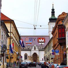 Old Town, Zagreb, Croatia. Photo courtesy of reachjody on Instagram.