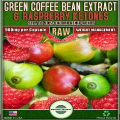 Pure Green Coffee Bean Extract Raw with Chlorogenic Acids Green Diet, Green Coffee Bean Extract, Raspberry Ketones, Aleta, Healthy Foods To Eat, Coffee Beans, How To Lose Weight Fast, Natural Health, Pure Products