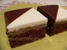 Dvoubarevné kostky Sweet Life, Dessert Recipes, Food And Drink, Cooking Recipes, Baking, Pies, Dolce Vita, Chef Recipes, Bakken