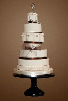 "The Sugar Nursery's ""Stephanie"" Wedding Cake"