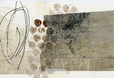 collage by Leslie Avon Miller textures shapes and color: The Edges of Things