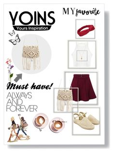 """""""Yoins"""" by smajicelma ❤ liked on Polyvore featuring Martha Stewart and yoins"""