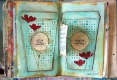 The work of mixed-media artist and journaler Donna Downey. She gives us a glimpse into her creative life and shares a beautiful art journaling video tutorial