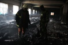 NAM NEWS NETWORK - BANGLADESH TEXTILE FACTORY FIRE LEAVES MORE THAN 100 DEAD