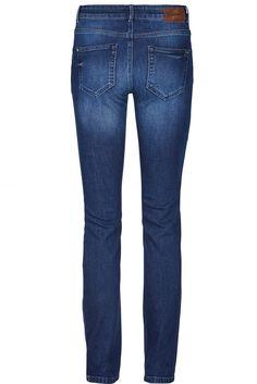 En flott jeans med rette ben i lekker blue denim farge.  Mos Mosh - 119820 duffy straight jeans