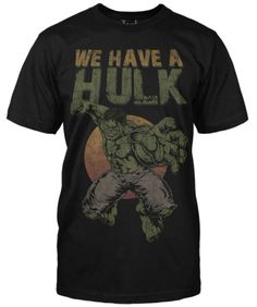 We Have A Hulk tee inspired by the latest Avengers trailer