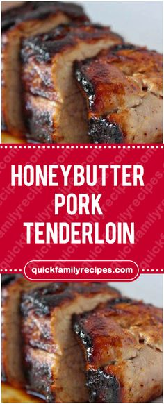 Ingredients 4 tbs butter 2 tbs honey 1 pounds pork tenderloin, trimmed tsp Cajun seasoning tsp black pepper cup water Directions Preheat oven to 375 degrees. In an ovenproof pot, heat butter and Easy Pork Tenderloin Recipes, Pork Tenderloin Oven, Pork Chops, Pork Tenderloins, Pork Marinade Recipes, Pork Tenderloin Marinade, Lamb Chops, Honey Butter, Pork Dishes